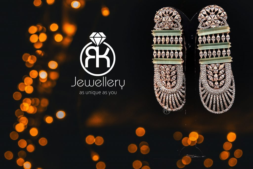 stylish jewelry photography